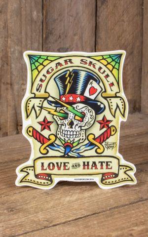 Sticker Vince Ray Sugar Skull