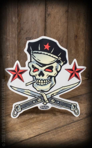 Sticker Switchblade by Vince Ray