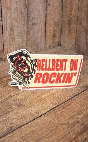Sticker Vince Ray Hellbent Devil