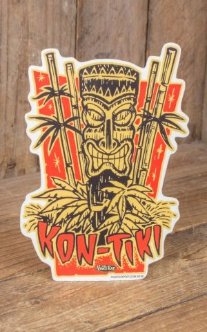 Sticker Vince Ray Kon-Tiki