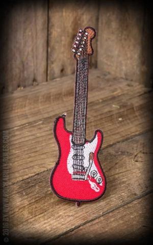 Aufnäher - E-Gitarre