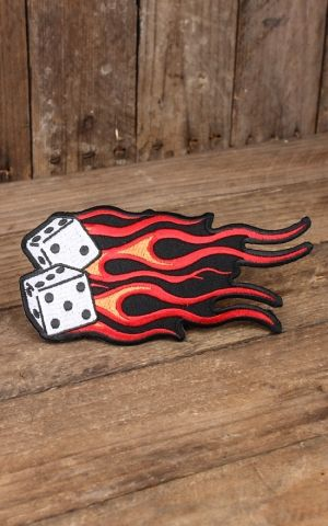 Patch Aftermath Flame Dice Patch Large