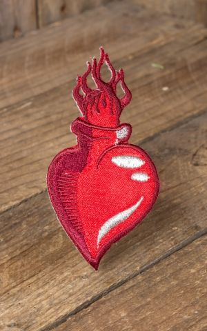 Patch - Burning Sacret Heart