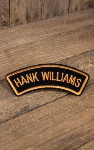 Aufnäher Hank Williams