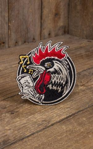 Aufnäher Kruse Rockabilly Rooster