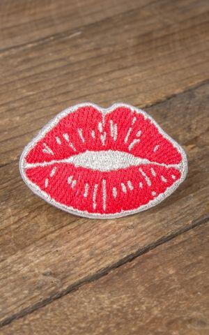 Aufnäher - Kussmund | Hot Lips