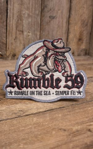 Rumble59 - Aufnäher On the sea - Semper fi