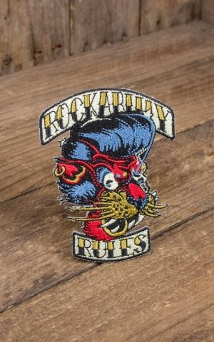 patch - Rockabilly Rules tiger