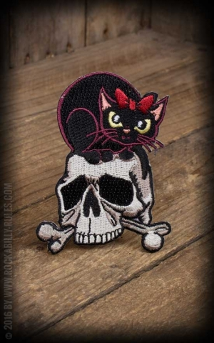 Patch Skully Cat