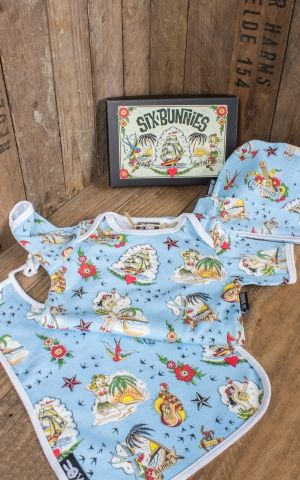 Six Bunnies Baby Geschenk Set Aloha Sailor Hawaii