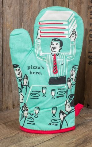 Oven gloves - Pizzas Here