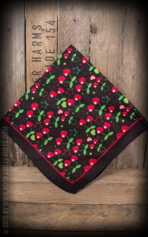 Bandana with Cherries