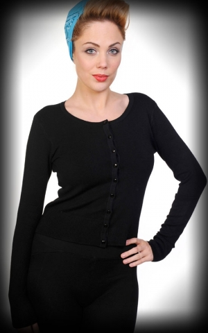 Cardigan Plain, black