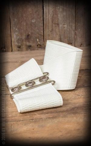 Banned Elastic Pin-Up belt, ivory