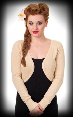 PinUp Bolero Flicker, cream