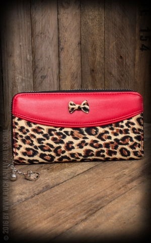 Banned Wallet Purse - Tori Leopard