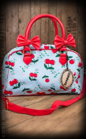 Banned Handbag Blindside - Cherries and bows