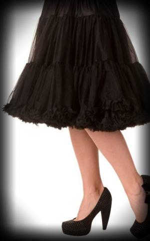 Petticoat long Rockabella - black