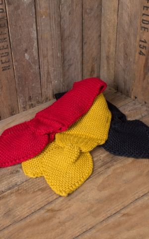 Banned Rockabella Knit Scarf, various colors