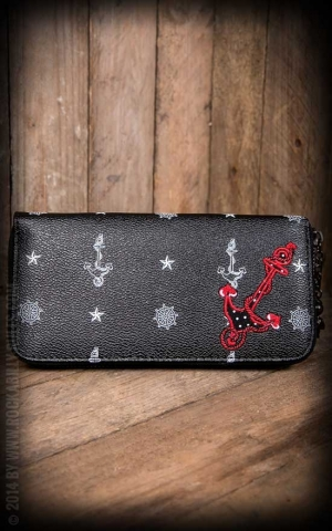 Wallet -  Anchor black