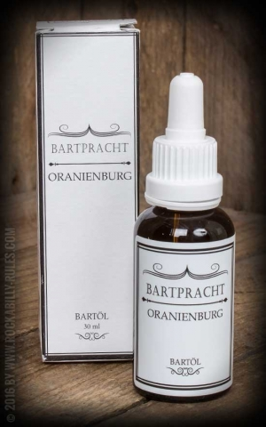 Bartpracht - Beard Oil Oranienburg, Vanilla Orange