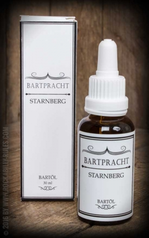 Bartpracht - Beard Oil Starnberg, elegant sharp, 30ml