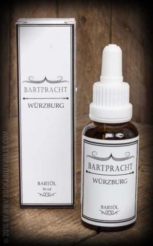 Bartpracht - Huile à Barbe Würzburg, épicé