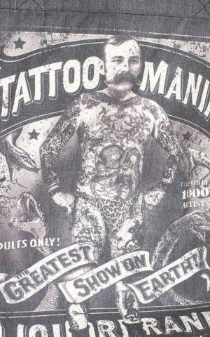 Liquorbrand Baumwolltasche Tattoo Mania