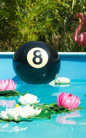 Rumble59 Beachball 8-Ball