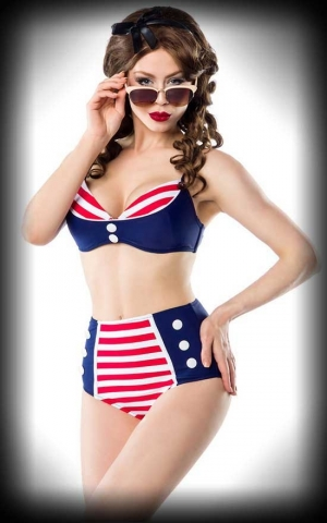 Belsira Retro Bikini, Sailor Betty Ahoy!