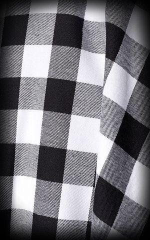 Belsira Vichy Tellerrock Victoria, schwarz weiß