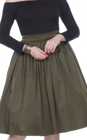 Bettie Page Clothing - Rock Ellie, olive