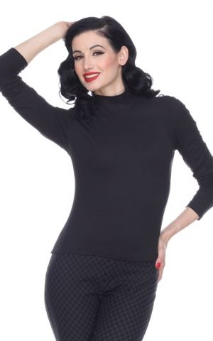 Bettie Page Clothing - Top Oh La La