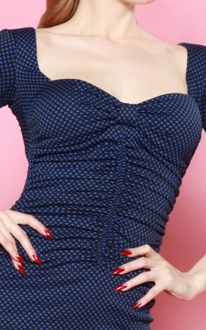 Bettie Page Clothing - Kleid Copa Cabana Polkadot