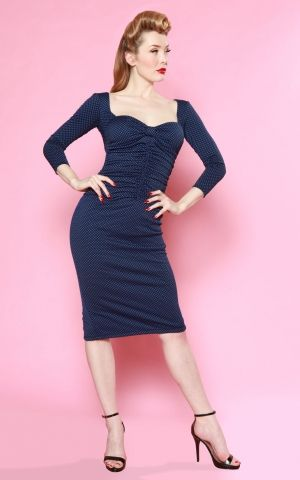 Bettie Page Clothing - Dress Copa Cabana Polkadot