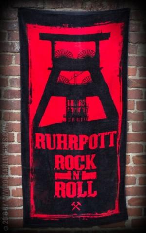 Big Size Badetuch - Ruhrpott RocknRoll