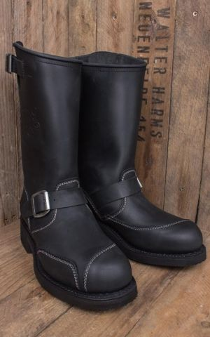 Rumble59 Biker Boots - Made by Sendra - black