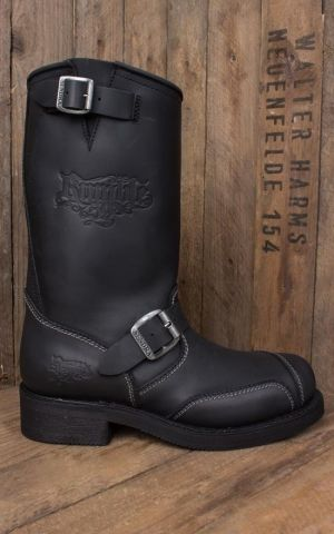 Rumble59 Biker Boots - Made by Sendra - noir