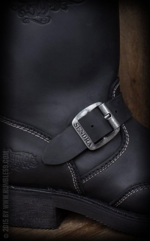 Rumble59 Biker Boots - Made by Sendra - black