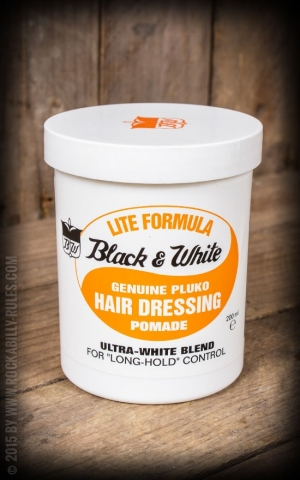 Black & White Pomade - Light