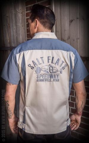 Rumble59 - Bowling Shirt - Salt Flats Speedway
