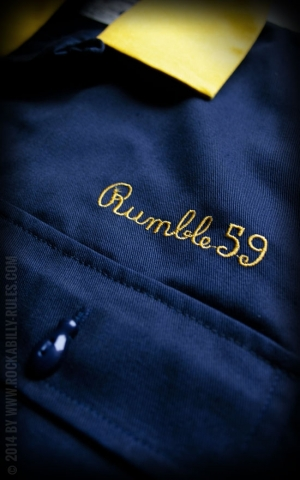 Rumble59 - Bowling Shirt - Getaway Car