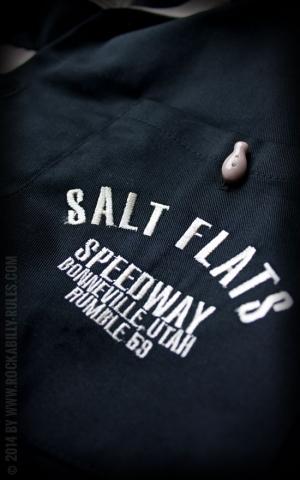 Rumble59 - Bowling Shirt - Salt Flats Speedway - schwarz
