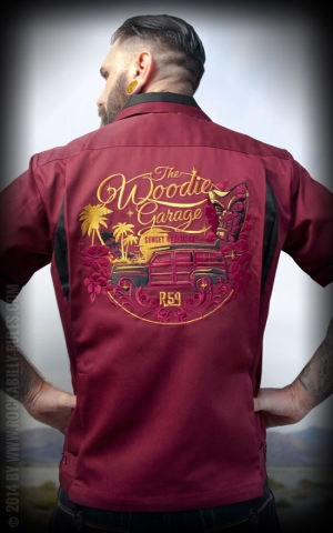 Rumble59 - Bowling Shirt - The Woodie Garage