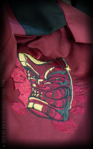 Rumble59 - Bowling Shirt - The Woodie Garage