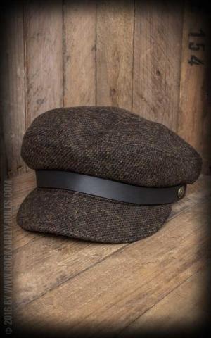 Brixton Cap - Fiddler, Braun