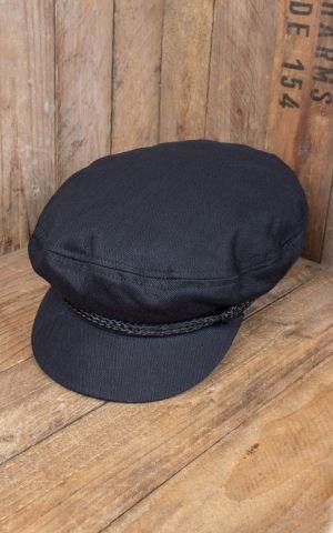 Brixton Fiddler Cap, black