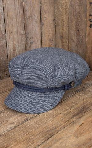 Brixton Fiddler Cap, schiefergrau