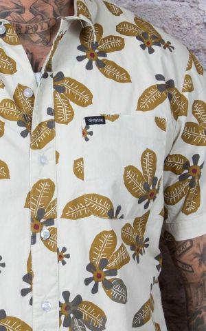 Brixton - Chemise Hawaïenne Charter woven