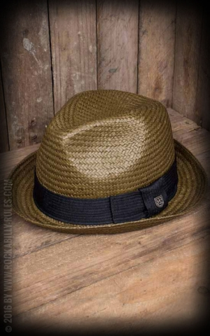 Brixton Hat - Castor Fedora, light brown